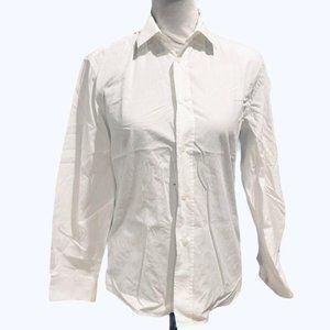 Acne Studios Jeffrey Pop Button Down Shirt White S
